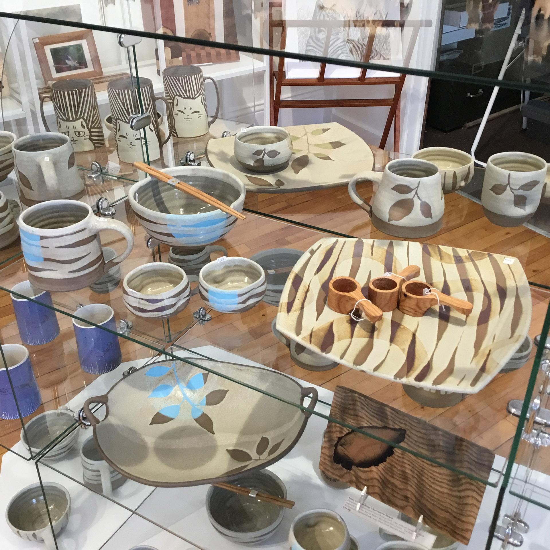Blue Mind Gallery, Interior
