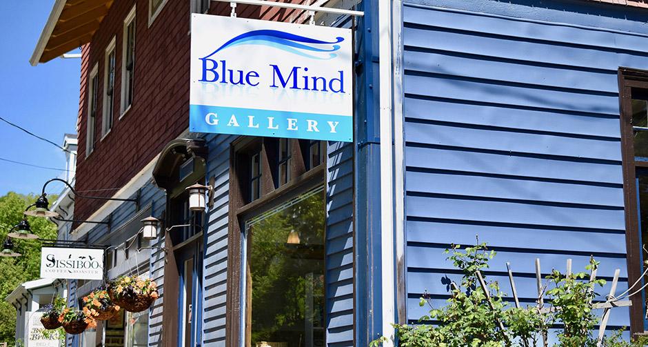 We open Blue Mind Gallery