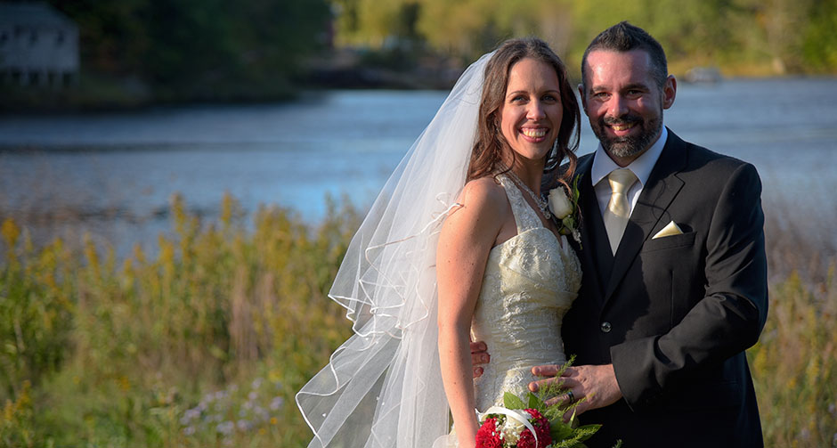 We get married in Bear River